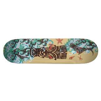 Waves of Tiki Skateboard