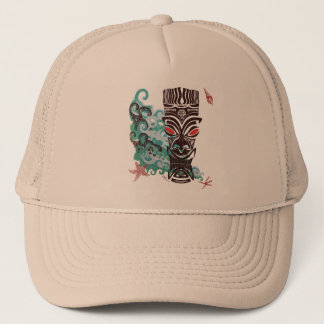 Waves of TIki Trucker Hat