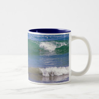 Waves of Two Two-Tone Mug