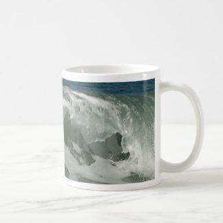 Waves Off Ocean Beach In San Diego Mugs