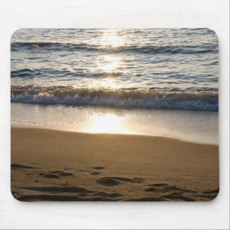 Waves on the Beach Photo Mousepad