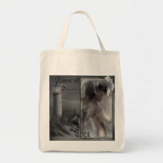 Waves - Organic Grocery Tote