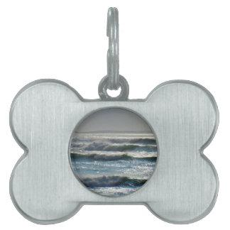 waves pet tag