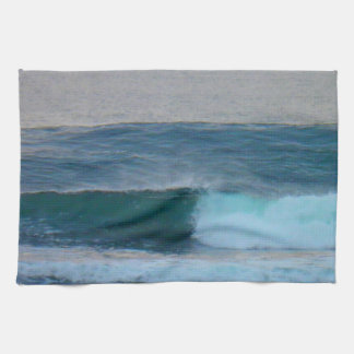 Waves Photo Ireland Kitchen Towel