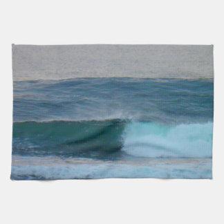 Waves Photo Ireland Tea Towel