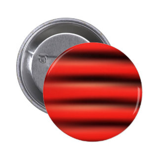 Waves, Red Colors, Shapes Style Fashion 6 Cm Round Badge