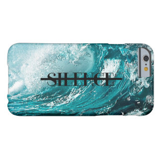 "Waves ""Silence"" Phone Case Barely There iPhone 6 Case"