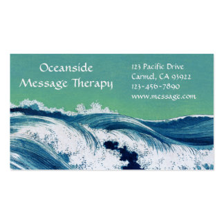 Waves Standard Business & Appointment Card Pack Of Standard Business Cards