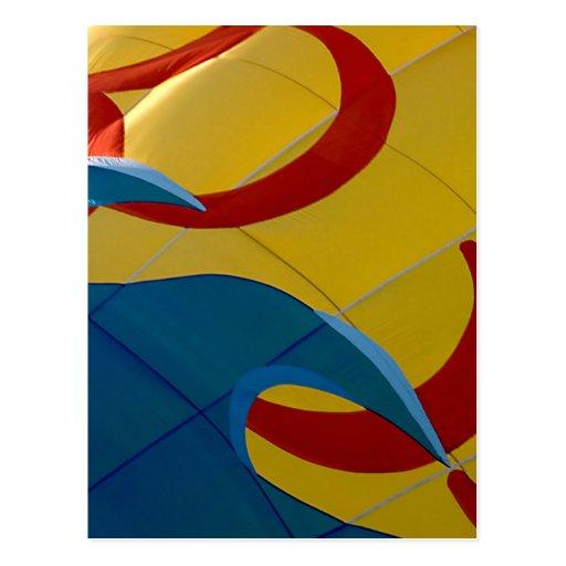 """Waves & Swirls"" - postcard"