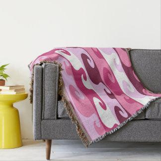 Waves (wink) throw blanket