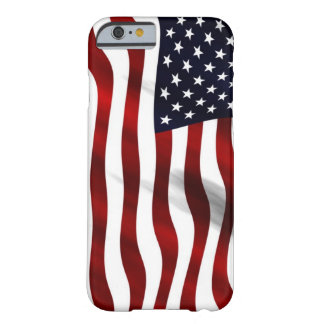 Waving American Flag Barely There iPhone 6 Case