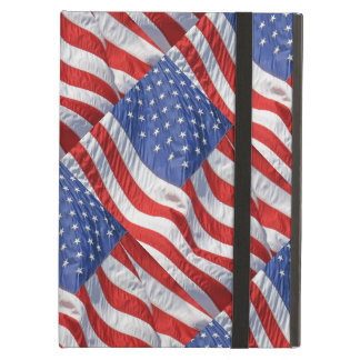 Waving American Flag Patriotic iPad Air Case