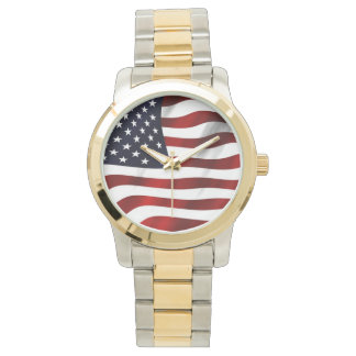 Waving American Flag Watch