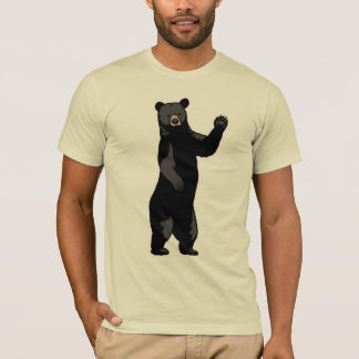 Waving Bear Says Hello T-Shirt