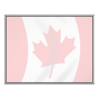Waving Canadian Flag 21.5 Cm X 28 Cm Flyer