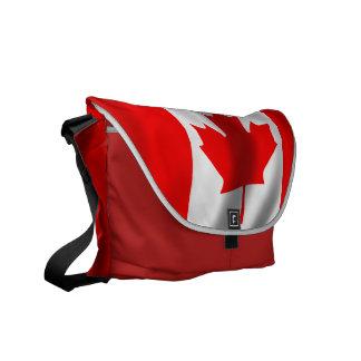 Waving Canadian Flag Commuter Bag