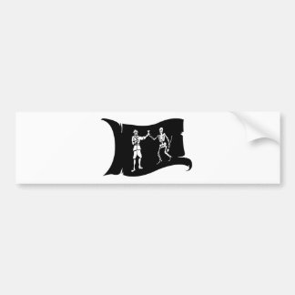 Waving Flag #8 Bart Roberts 2 Bumper Sticker