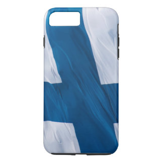 Waving Flag of Finland iPhone 7 Plus Case