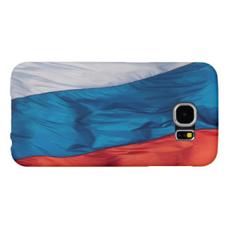 Waving Flag of Russia Samsung Galaxy S6 Cases