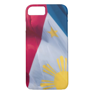 Waving Flag of the Philippines iPhone 7 Case