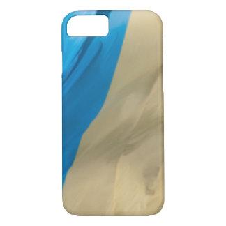 Waving Flag of Ukraine iPhone 7 Case
