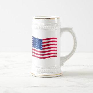 Waving Flag of USA Mug