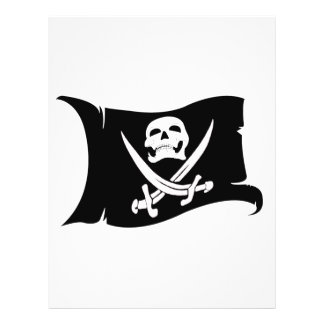Waving Flag-Pirate Icon 10 Flyers