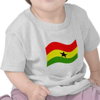 Waving Ghana Flag Shirt