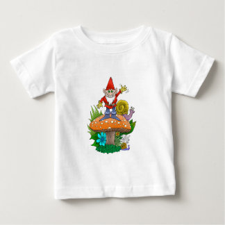 Waving Gnome.jpg Baby T-Shirt