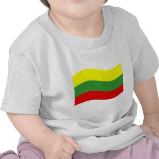 Waving Lithuania Flag Shirts