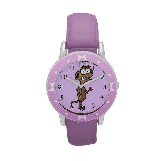 Waving Monkey Wrist Watches