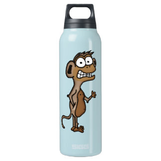 Waving Monkey 16 Oz Insulated SIGG Thermos Water Bottle