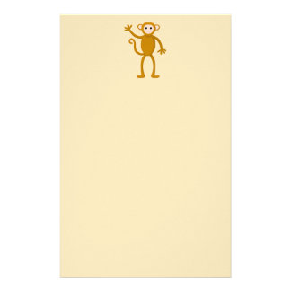 Waving Monkey. Stationery