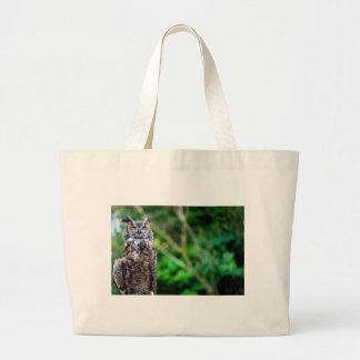 Waving Owl Jumbo Tote Bag