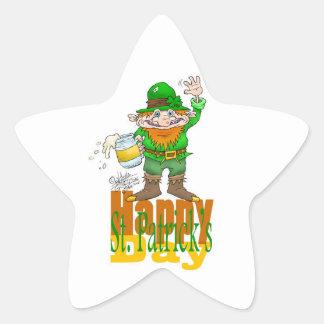 Waving Paddy, star sticker. Star Sticker