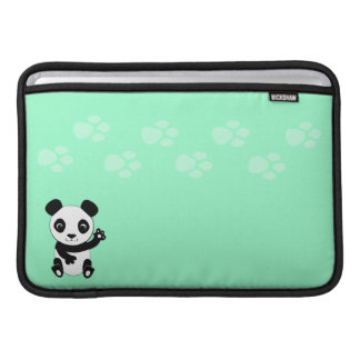 Waving Panda MacBook Sleeve