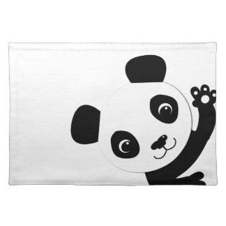 Waving Panda Placemat