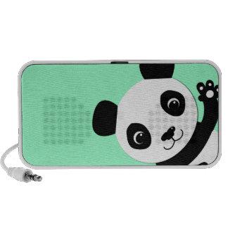 Waving Panda Portable Speaker