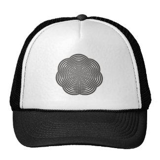 waving sample wave pattern mesh hats