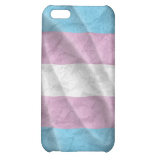 Waving transexual pride flag iPhone 5C cover