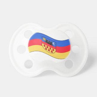 Waving Transylvania Flag Pacifier