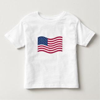 Waving USA FlagToddler T-Shirt
