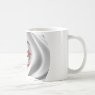 Wavy Algeria Flag Coffee Mug