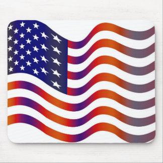 WAVY AMERIICAN SYMBOL FLAG, AMERICAN FLAG GIFT