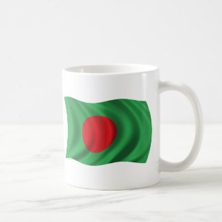 Wavy Bangladesh Flag Coffee Mug
