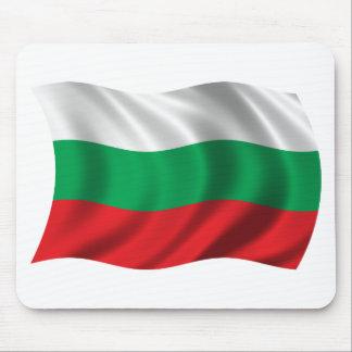 Wavy Bulgaria Flag Mouse Pad
