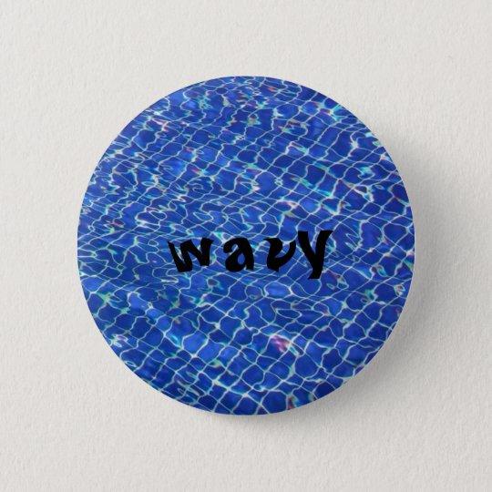 wavy button 2in