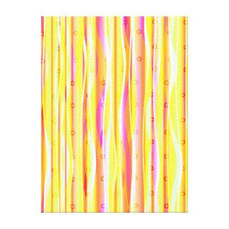 Wavy Lines Canvas Print