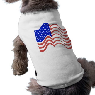 Wavy Lines Flag Shirt