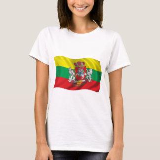 Wavy Lithuania Flag T-Shirt